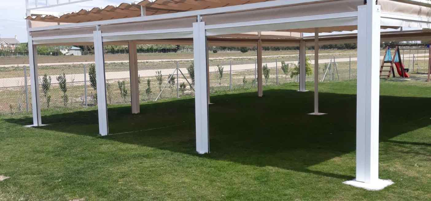 Terraza con sitema autocierre